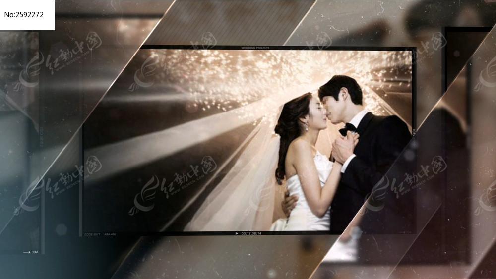唯美恩爱婚礼相册模板aep下载