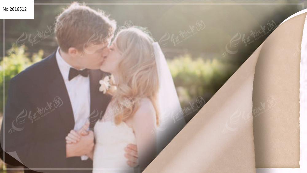 唯美浪漫婚礼ae相册模板 含音乐图片