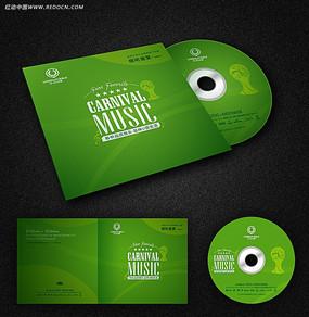 世界杯音乐光盘CD封面设计及内页碟片设计
