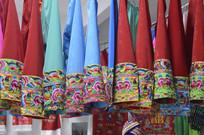 湖南少数民族传统服装特写图
