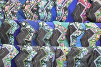 湖南少数民族服装特写图片