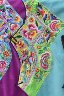 湖南少数民族服装湘绣图片