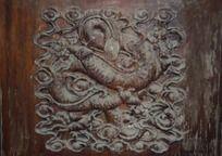 清西陵木雕图案