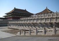 故宫博物院的石栏