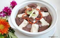清肺猪血豆腐煲