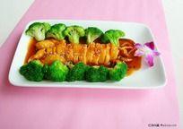 日式烧汁鲜鱿