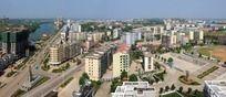 西渡县城小城鸟瞰