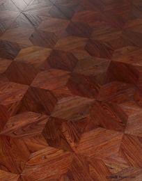 木地板高清图-波西米亚.榆木拼花