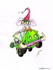 小猪飞车动漫