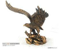 大鹏展翅纯铜雕塑
