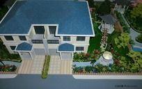 别墅造型设计 模型,