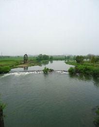 皖南宏村河流