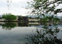 皖南湖畔风景