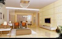 家居设计客厅效果图设计3D