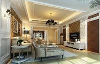 豪华家居设计客厅效果图设计