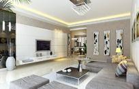 家居设计客厅效果图设计3D图片