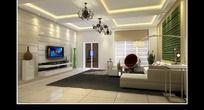 家居设计客厅效果图设计