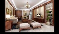 简约起居室设计