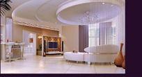 唯美家居设计客厅效果图设计