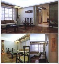 中式家居设计客厅效果图设计