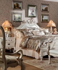 欧式卧室家具 天鹅床