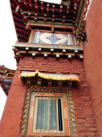 藏传佛教寺庙局部