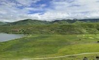 卡萨湖湖畔风景