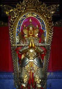 韦陀菩萨像