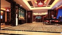 中餐厅厢房效果图