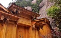 原木建造的房子