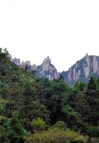 远眺太姥山夫妻岩