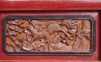 麒麟木雕工艺品