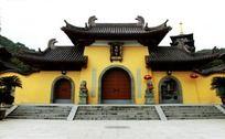 温州护国寺大门全景