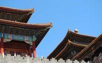 北京故宫城楼