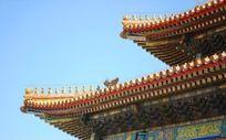 北京故宫房檐