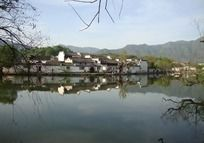 安徽宏村村落