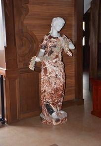 欧式古典美女雕塑
