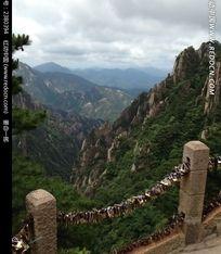 黄山同心锁护栏