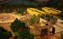 城市广场建筑模型