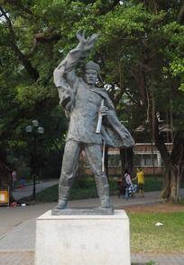 邓世昌雕塑