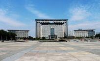 温州市政府大楼全景
