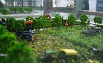庄稼机械模型