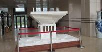 唐山税务大厅仿世博中国馆模型