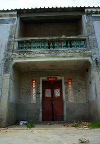 鹏城旧房子特写