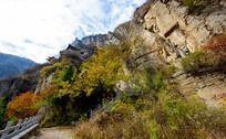 五龙洞秋天风景