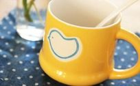 小鸟陶瓷水杯
