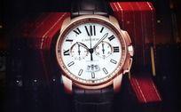 cartier手表宣传画