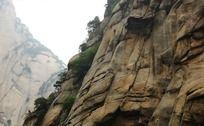 华山大块的石头