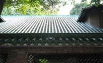 中山大学古建筑琉璃瓦屋顶