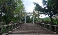 茶山五美园台阶
